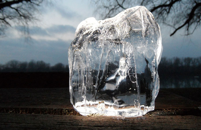 Big, Clear Blocks Of Ice Are Neat