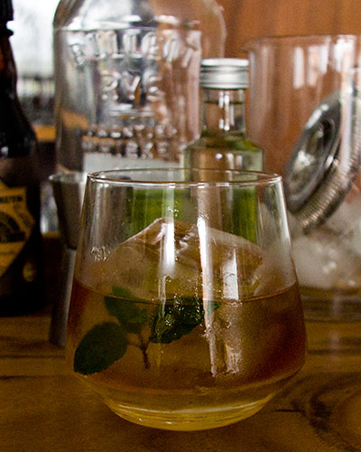 Mentha Fashioned Cocktail