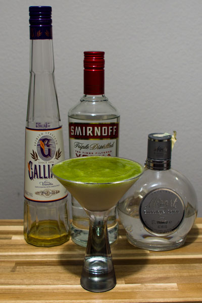 Green Wave Cocktail