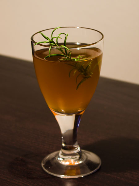 Carpathian Honey Cocktail